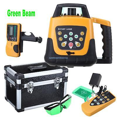 500m Range Horizontal & Vertical Green Beam Self-leveling Rotary Laser Level