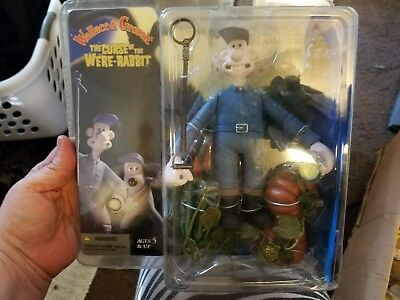 Wallace And Gromit  Curse Of The Were Rabbit Gromit Holding Tape  Figure Nib
