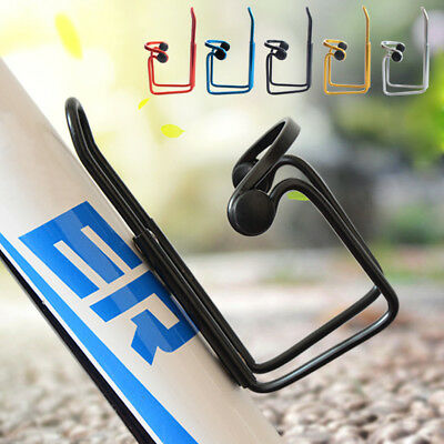Bike Aluminium Alloy Water Bottle Cage Bottle Holder Black/Silver/Bule/Red v