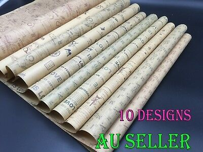 Bulk Kraft Gift Wrapping Paper Packing Paper Vintage Wedding Valentine's Day