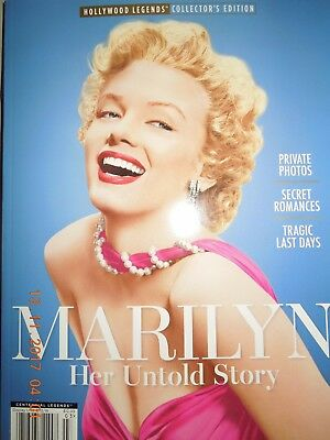MARILYN MONROE her untold story HOLLYWOOD LEGENDS collectors edition 2017 NEW