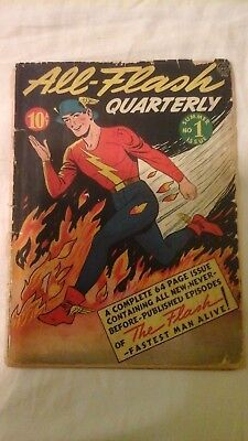 All-Flash #1  1941 rare DC