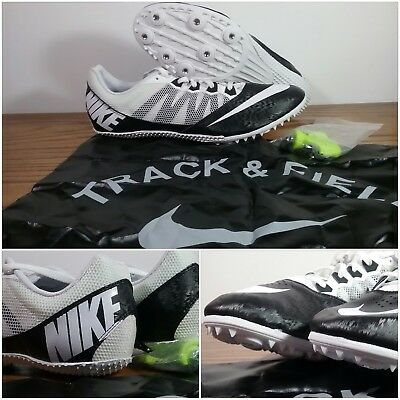 online store 5ee7a 23bd4 New Nike Zoom Rival S 7 Track Field Sprint Racing 616313-010 Spikes Men s