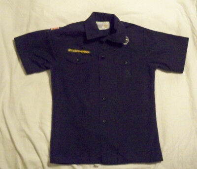 Official Youth Shirt*Cub Scouts*BSA* Youth Medium*Blue*Short Sleeves