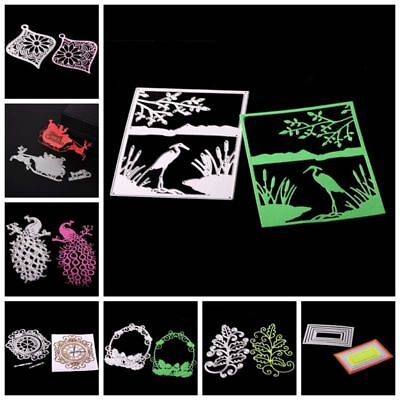 DIY Cutting Dies Embossing Stencils Scrapbooking Tagebuch Stanzschablone Decor