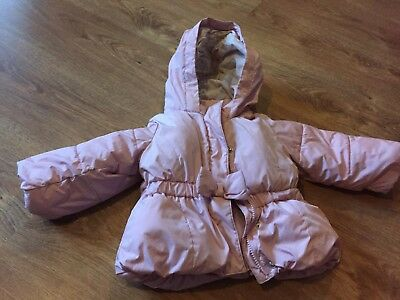 BabyGap Pink Winter Jacket Age 18-24 Months