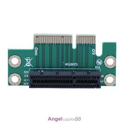PCI Express (PCI-E) 4X Adapter 90 Degree Riser Card for 1U Server Chassis