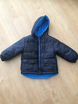 As New Puffer Jacket Size 2 Reversible
