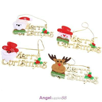 4 X Christmas supplies Christmas decorations Christmas strap