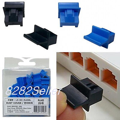 RJ45 Jack Anti Dust Caps Port Cover and Protector Boot Protector Plug  cat5 cat6