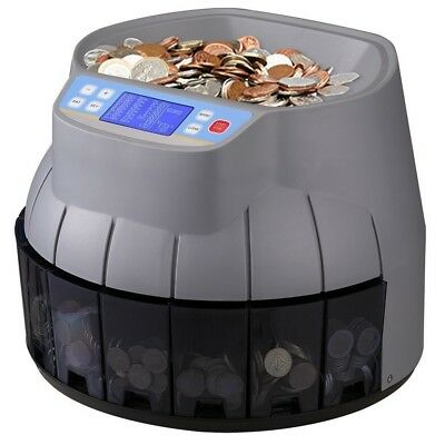 New Auto Electronic Money Coin Counter Sorter Works With Old And New £1 Gbp