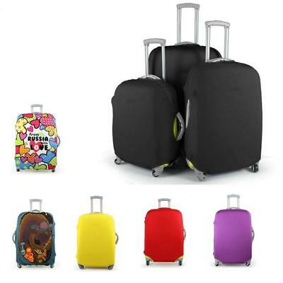 Travel Luggage Suitcase Protective Cover Stretchy Durable Traveling Bags Covers