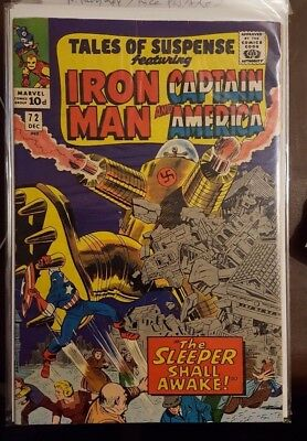 Tales Of Suspense Featuring Iron Man And Captain America #72 - Dec 1965 - Fn+