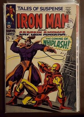 Tales Of Suspense Featuring Iron Man And Captain America # 97 - January 1968