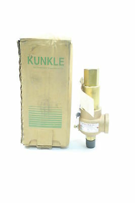 New Kunkle 918Bdcb01Bje 59Gpm Bronze 300Psi 1/2In Npt Relief Valve D585006