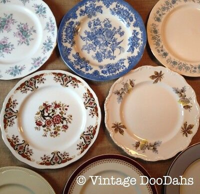 Mix & Match Dinner Plates - China Spares - Sold by Vintage DooDahs