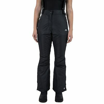 Trespass Salta Waterproof Womens Black Ski Pants Snowboarding Trousers bfe99112c