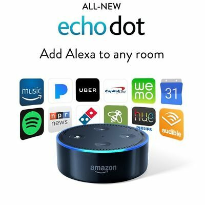 New Amazon Echo Dot 2nd Generation w/ Alexa Voice Controlled Media Device