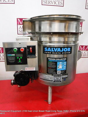 Salvajor S419 Food Waster Trough Disposal Collector System