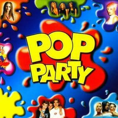 Various Artists : Pop Party - Hits for Kids [includes Karaoke Cd] CD 2 discs