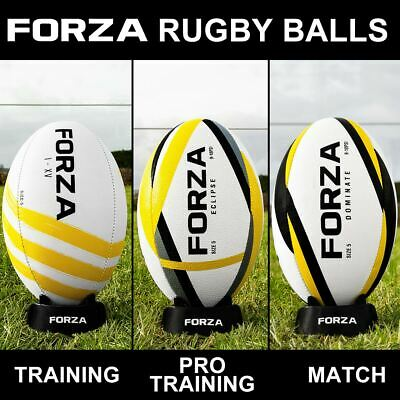 FORZA Rugby Balls   Size 3/4/5 - **LATEST 2020 MODELS** - Training & Match Balls