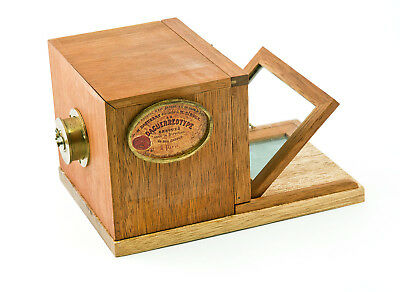 Alphonse Giroux 1/3rd Scale Replica Model of Daguerreotype Camera by Jerry Smith