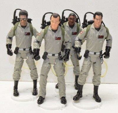 "GHOSTBUSTERS Mattel 6"" Action Figure Set Peter Egon Ray Winston 1st Movie"