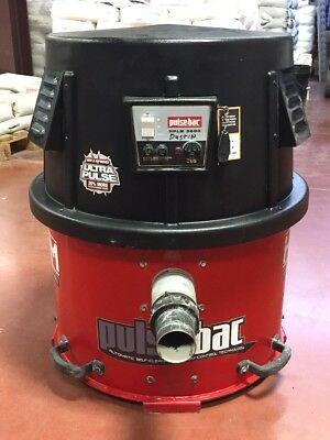 Cdc Hplm-3690D Pulse-Bac Hepa Vacuum For Concrete Grinder Polisher Reconditioned