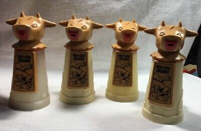 4-VINTAGE MOO-COW COFFEE CREAMER by WHIRLEY INDUSTRIES  Warren Penna USA