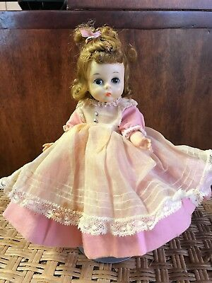 Vintage 8 inch Madam Alexander Amy with jointed knees