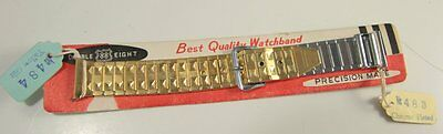 Vintage Precision Made Double 8 Best Quality Watchband 2 halves, 484 / 483