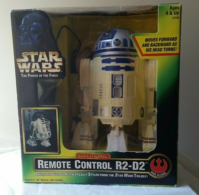 Star Wars Power of the Force R2-D2 Remote Control 1997