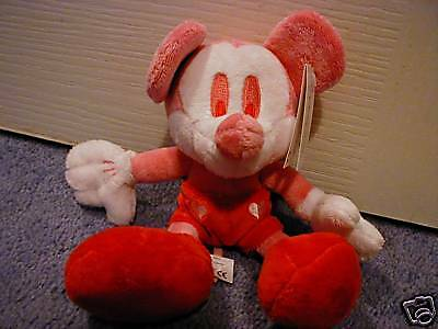 Disney Store Mickey Mouse Candy Pink Beanbag Brand New Very Rare