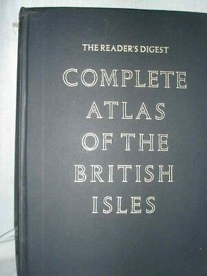 Complete Atlas of the British Isles - a Reader's Digest book