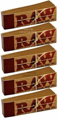 250 RAW Rolling Paper Roach Filter Tips Chemical and Chlorine free Filter tips