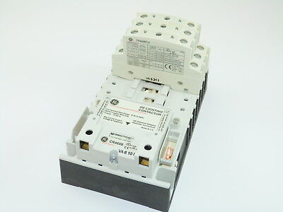 GE CR463L60AJA Electricity Held Lighting Contactor 120v Coil 6 N.O. Poles NEW