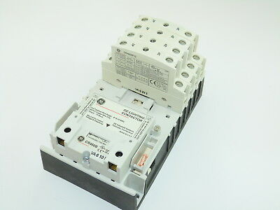 GE CR463L80AJA Electricity Held Lighting Contactor 120v Coil 8 N.O. Poles NEW