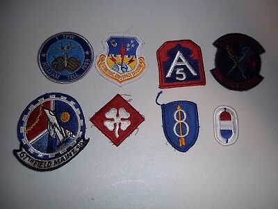 Wwi Wwii Korean War Vietnam Us Army Patch Lot #115