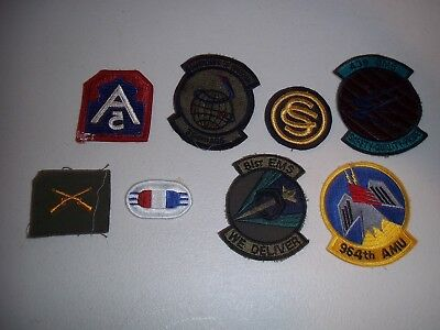 Wwi Wwii Korean War Vietnam Us Army Patch Lot #117