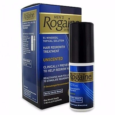 1 Month ROGAINE MEN'S Liquid TOPICAL SOLUTION 5% minoxidil extra strength liquid