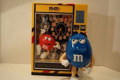 M&M's Bank Alarm Clock Works Perfectly without box