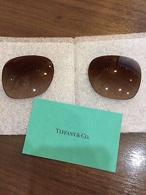 New Tiffany & Co Original Brown Replacement Sunglasses Lenses TF4137-B-F (56mm)