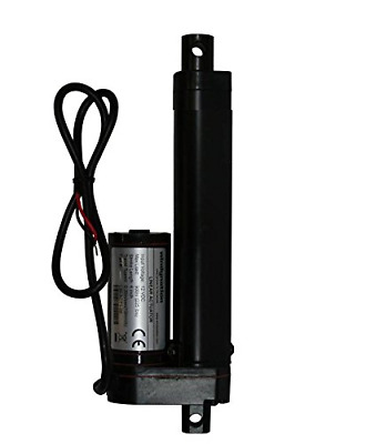 """WINDYNATION 4 Inch 4"""" Stroke Linear Actuator 12 Volt 12V 225 Pounds lbs Maximum"""