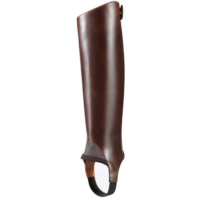 Ariat Close Contact Leather Half Chaps Brown Chocolate Small XXS 39.5 x 32 cm