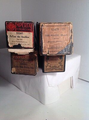Player Piano Music Rolls Lot of 4
