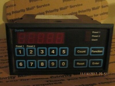 Durant 5883-1 58831-400 Digital Programmable Counter *used* Very Nice