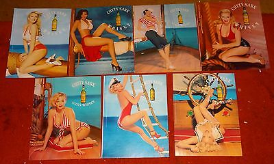 7 CUTTY SARK AD ADS  A36  pin up style
