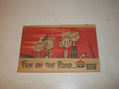 Fun on the Road – Standard (Amoco) Oil Booklet 1947