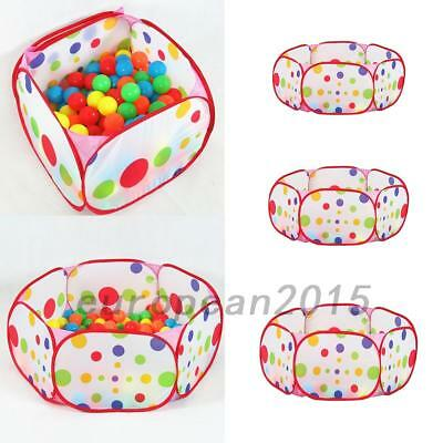 Colourful World Portable Hexagon Ball Pool pour les enfants Cadeaux