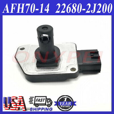 Mass Air Flow Sensor AFH70-14 for Nissan Pathfinder Infiniti QX4 3.3 22680-2J200